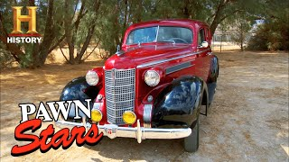 Pawn Stars: Seller REFUSES TO BUDGE on 1937 Oldsmobile Price (Season 5) | History