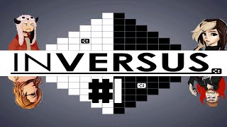 Inversus - Mind-Bending Combat Game Part 1 /w KatFTWynn, Kita, and Harshlycritical
