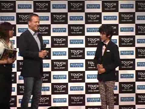 Promo Touch S1 in Japan - Interview Kiefer Sutherland - 9/3/12 (Part2)