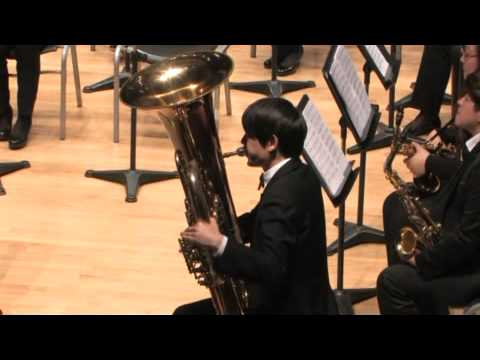 Capriccio for Tuba and Concert Band - Rodney Newton(1945~) | Tuba JeongGil Park