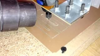 Самодельный станок ЧПУ (Homemade CNC machine) зажимы для стола