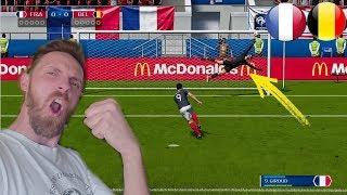 FIFA 18 KARNE CHALLENGE FRANCJA VS BELGIA PÓŁFINAŁ RUSSIA 2018 * mamy bohatera*