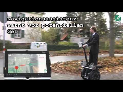 Mobile IT am FZI am Beispiel der Tür-zu-Tür-Navigation