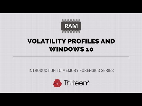 Volatility Profiles and Windows 10 - YouTube