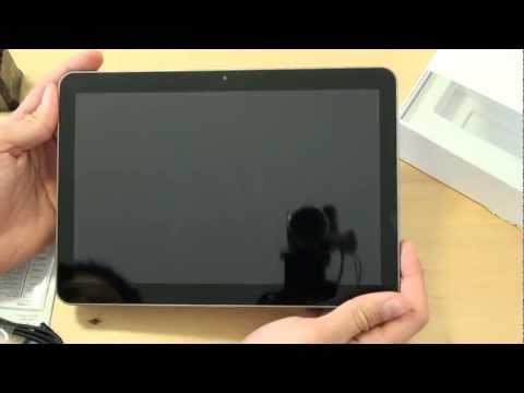 Samsung P7100 Galaxy Tab 10.1v Test Erster Eindruck