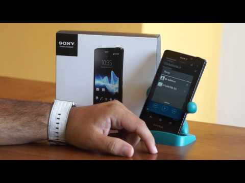 Unboxing y Review Sony Xperia T
