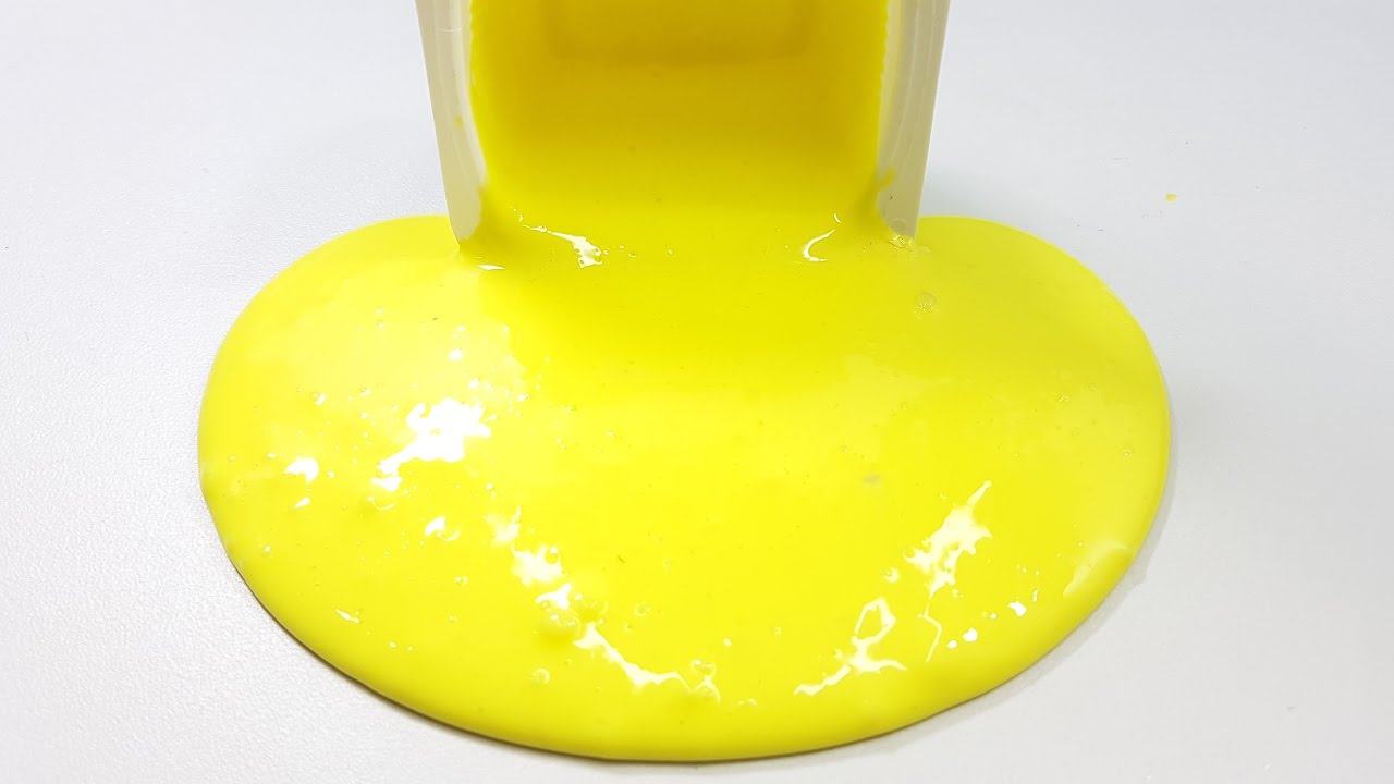 How To Make Slime Without Glue! Only 2 Ingredients