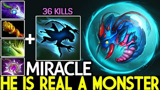 MIRACLE [Weaver] He is Real a Monster No Mercy 36 Kills 7.26 Dota 2