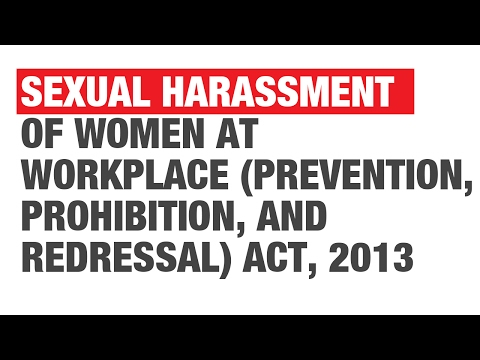 Act against sexual harassment in india