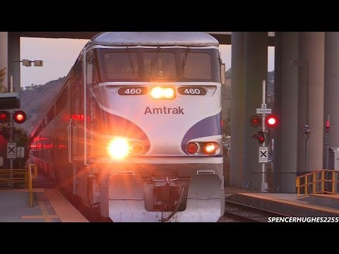 Thumbnail: Amtrak Trains on Thanksgiving weekend (November 30th, 2013) Lots of Locations !!