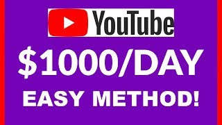 How To Earn $1000 per Day on YouTube Without Showing your Face In Any Video In 2019