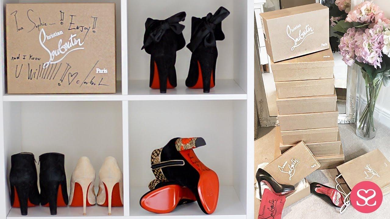 86c83592817 My Louboutin Collection + Luxury Shopping Haul | Sophie Shohet