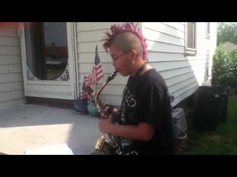 Alto Sax Simple Gifts