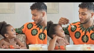 Daddy Teaches Daughter His Language | Swahili