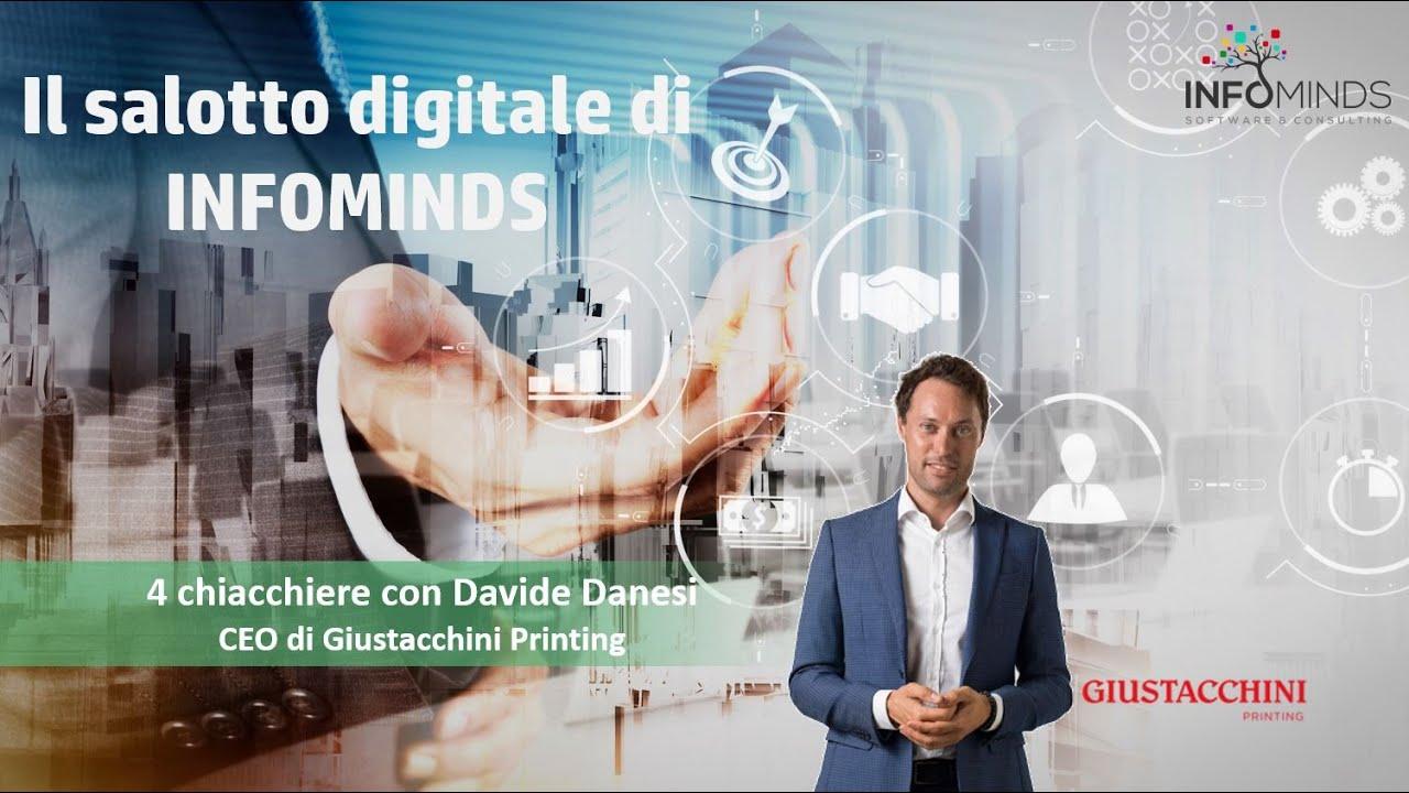 Webinar: 4 chiacchiere con Davide Danesi CEO Giustacchini Printing