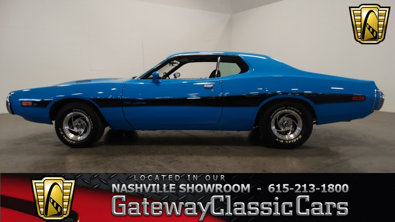 1973 Dodge Charger,Gateway Classic Cars-Nashville#323 - YouTube