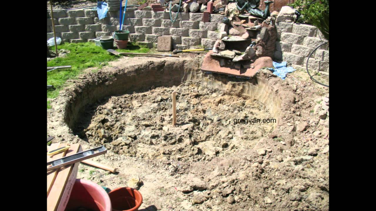 Digging Small Pond