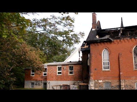 Trinity Baptist Church Fire / CARL MULLER