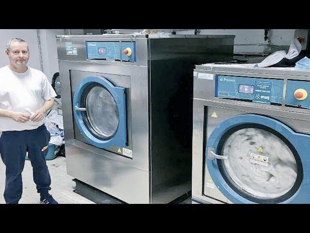 2018 Installation of Primer Laundry Equipment at  Hotel Laundry