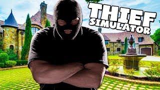 WE STOLE A CAR! - THIEF SIMULATOR! #8
