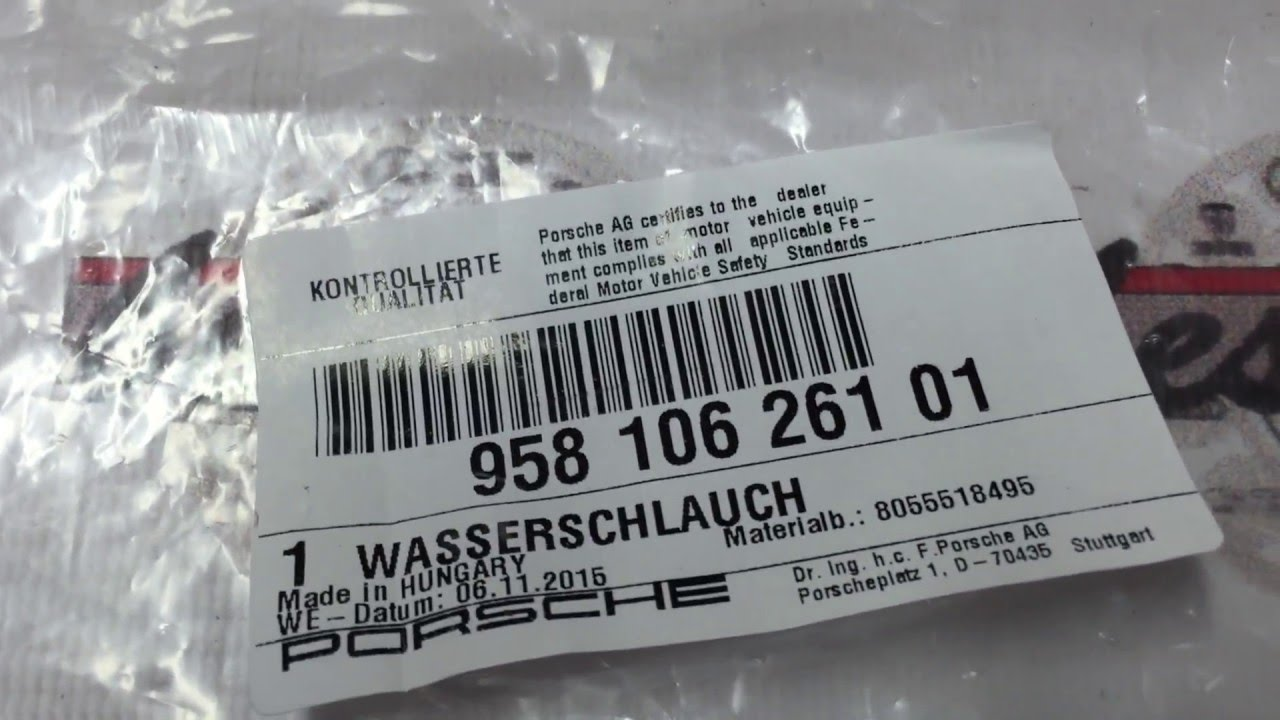 95831405001 Насос гидроусилителя (ГУР) Porsche Cayenne 958