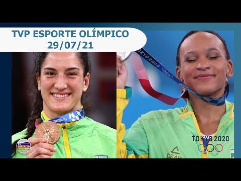 TVP ESPORTE OLÍMPICO - 29/07/21