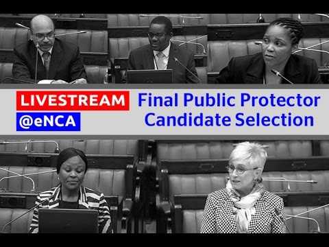 MPs to decide on final Public Protector candidate