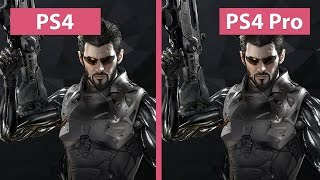 4K UHD | Deus Ex Mankind Divided – PS4 vs. PS4 Pro 4K Mode Graphics Comparison