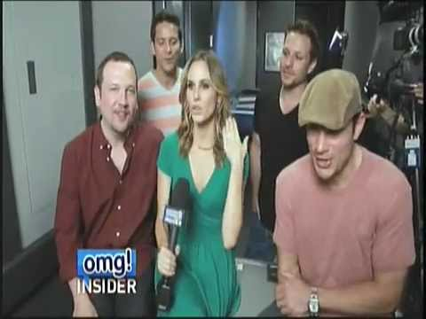98 Degrees Get Ready for the Package Tour Interview