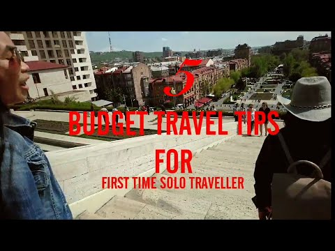 Day 5 : 5 BUDGET TRAVEL TIPS FOR FIRST TIME SOLO TRAVELLERS || YEREVAN ARMENIA 2019 Ереван, Армения