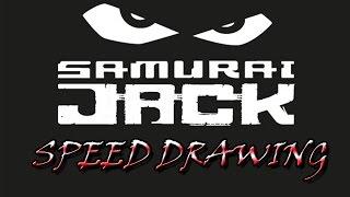 Samurai Jack Speed Drawing