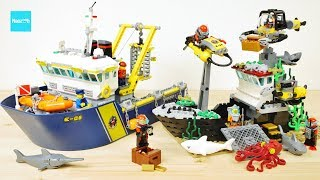 レゴ シティ 海底調査艇 60095 / LEGO City Deep Sea Explorers 60095 Exploration Vessel