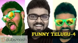 Telugu Dubsmash Songs Compilation Latest Funny India 2015  II Vishwanath Naidu