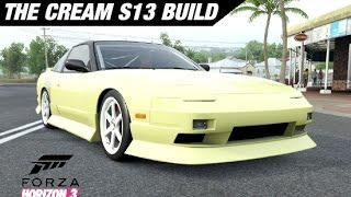 Adam LZ's Cream 240SX S13 Build - Forza Horizon 3