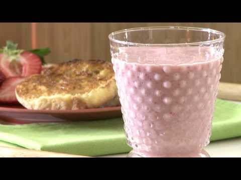 How to Make Strawberry Smoothies | Smoothie Recipes | Allrecipes.com
