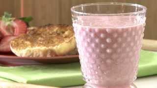 Smoothie Recipes - How To Make Strawberry Smoothies