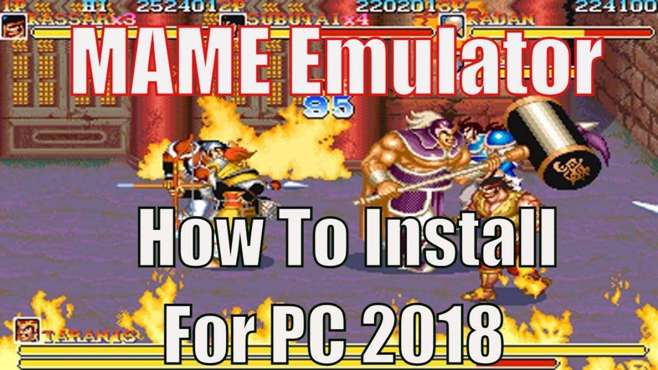 CÙNG CHƠI - Hướng Dẫn Cài Đặt MAME Emulator - Giả Lập Game
