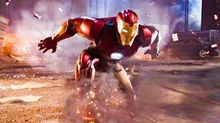 Iron Man All Cutscenes Full Game Movie