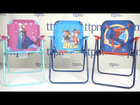 Disney Frozen, Paw Patrol, Or Spider Man Patio Chair From Kids Only    YouTube
