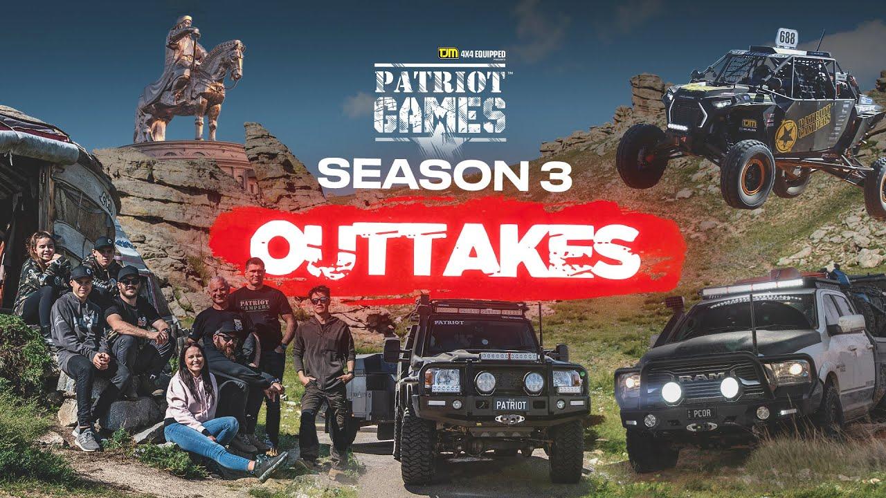 Patriot Games Season 3 Outtakes Reel - USA | AUSTRALIA | MONGOLIA