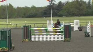 Dan Neilson riding Chauvanist quilify for the 2010 HOYS 7&8 Championship Final at Addington