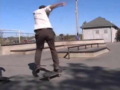 Joel Blazer & friends skateboarding Cincinnati October 16th 2010