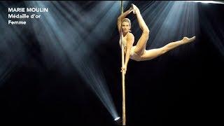 Marie Moulin - Compétition Française de Pole Dance 2018