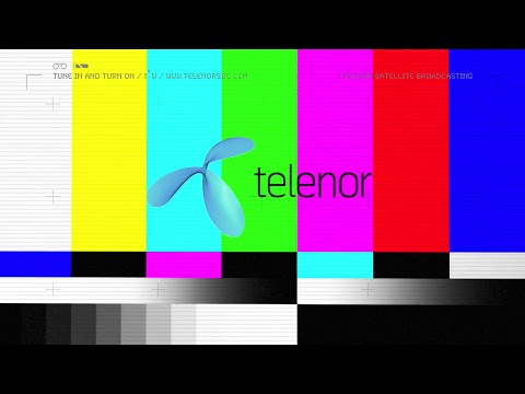 Telenor Satellite Broadcasting Colour Bars