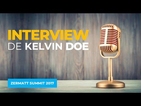 Interview de Kelvin Doe au Zermatt Summit 2017