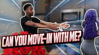 MOVE IN WITH ME PRANK ON CRUSH * NEW APARTMENT* | TyTheGuy