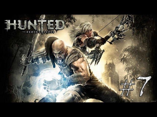 Смотреть прохождение игры [Coop] Hunted The Demon's Forge #7 - Побег от паука.