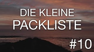 Die kleine Packliste - Work and Travel Australien