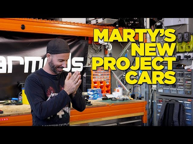 Marty's New Project Cars (Please make him Stop!)