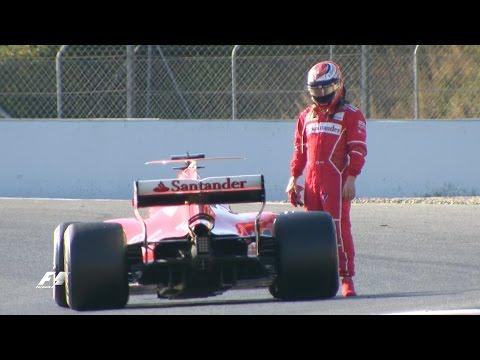 Raikkonen Flies As Ferrari Lay Down Marker | F1 2017 Test 2, Day 4